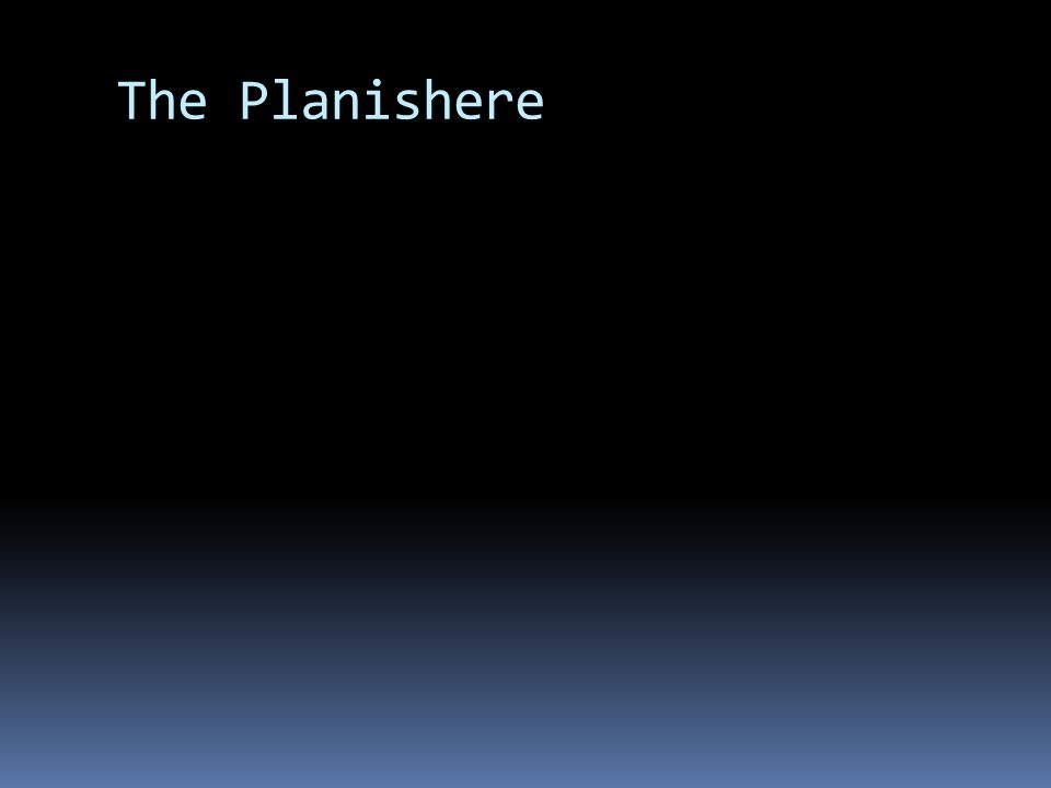 The Planishere