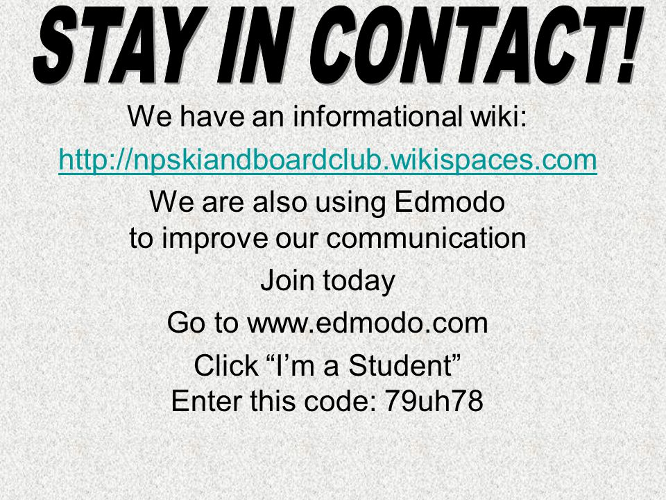 We're going to send a sample message from Edmodo.
