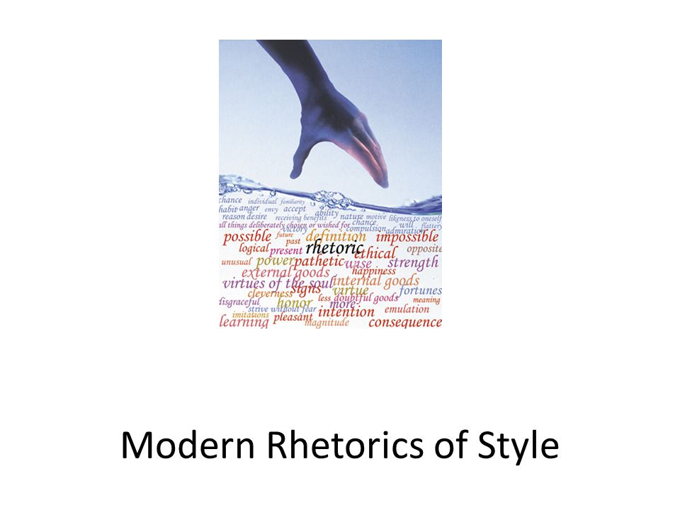 Tonight's Themes Metaphor and Language Rhetoric and Reality Style and Substance