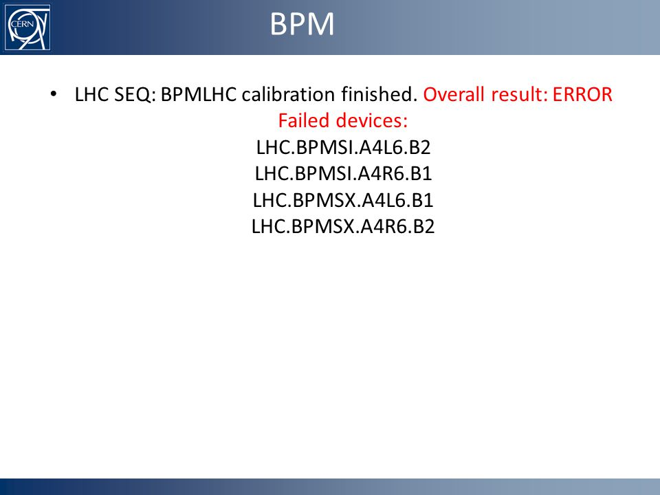 BPM LHC SEQ: BPMLHC calibration finished.