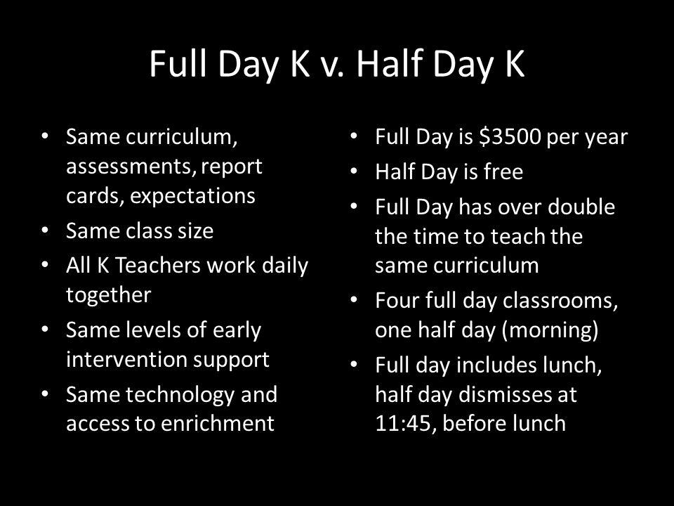 Full Day K v.