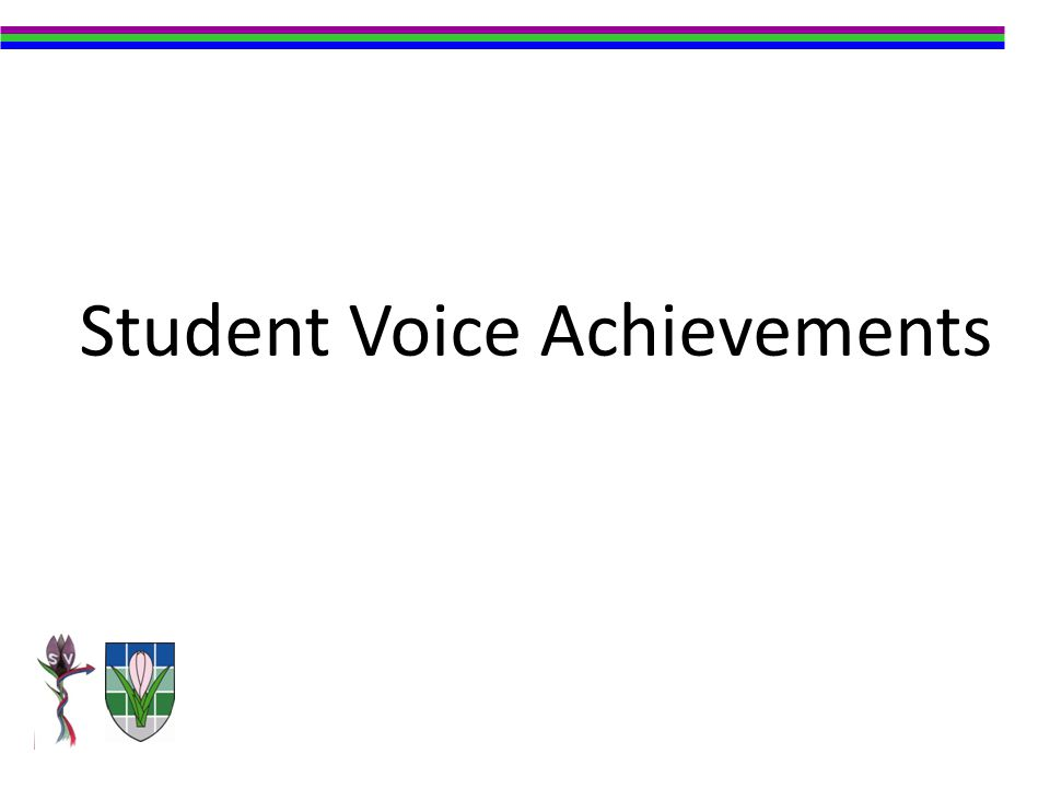 Student Voice Achievements