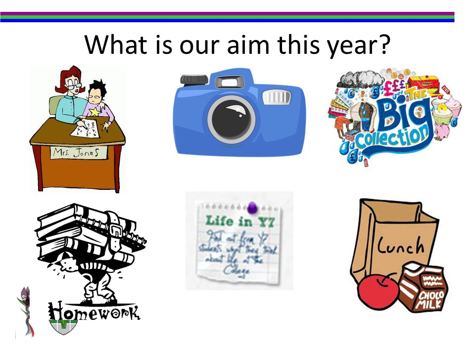 What is our aim this year