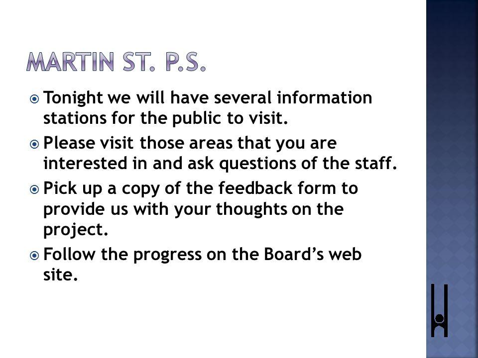  Information stations:  Planning enrolments and demographics.