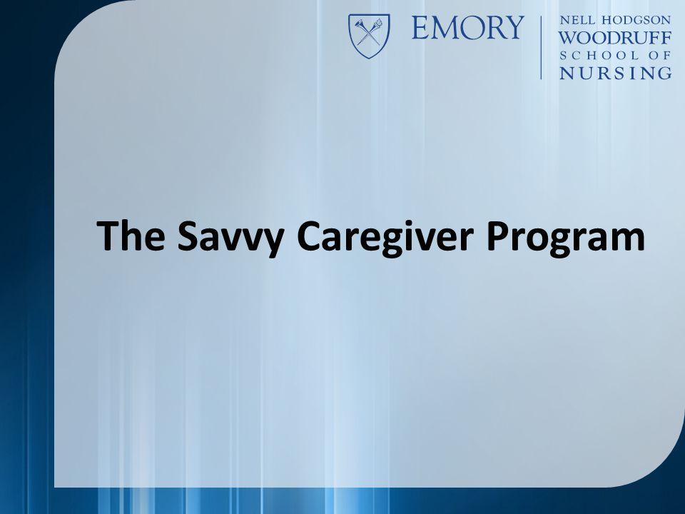 The Savvy Caregiver Program