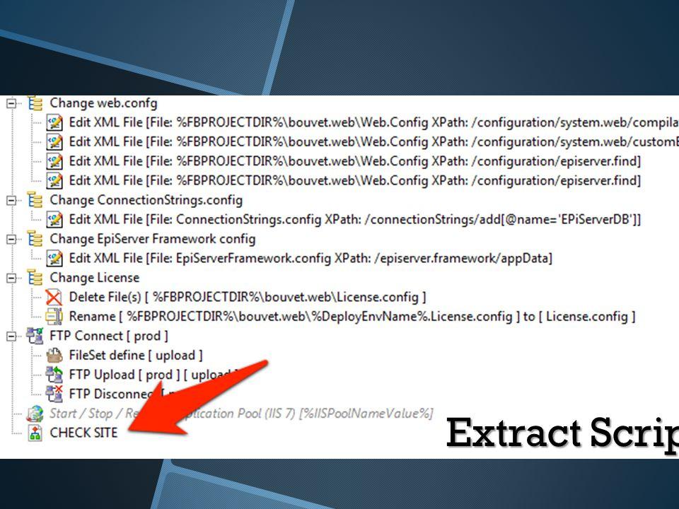 Extract Script