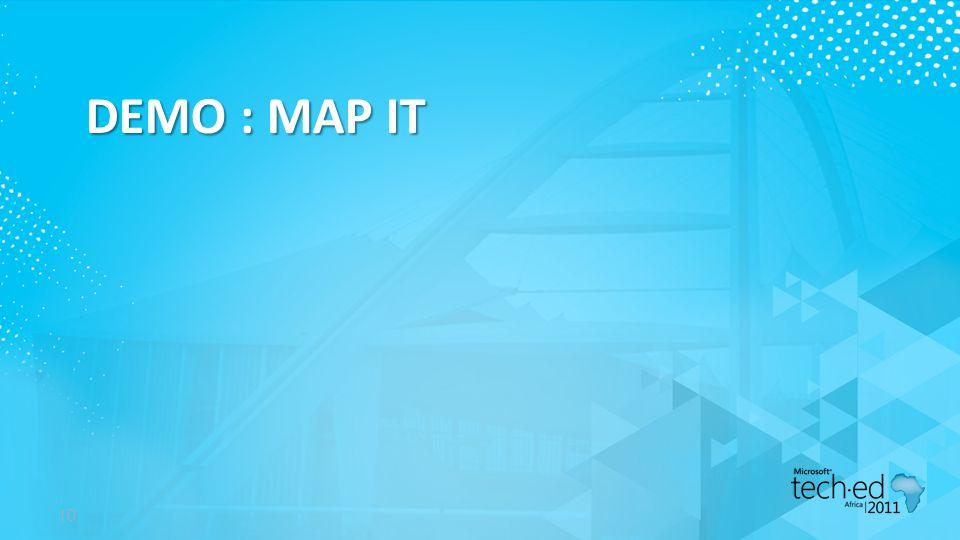 DEMO : MAP IT 10
