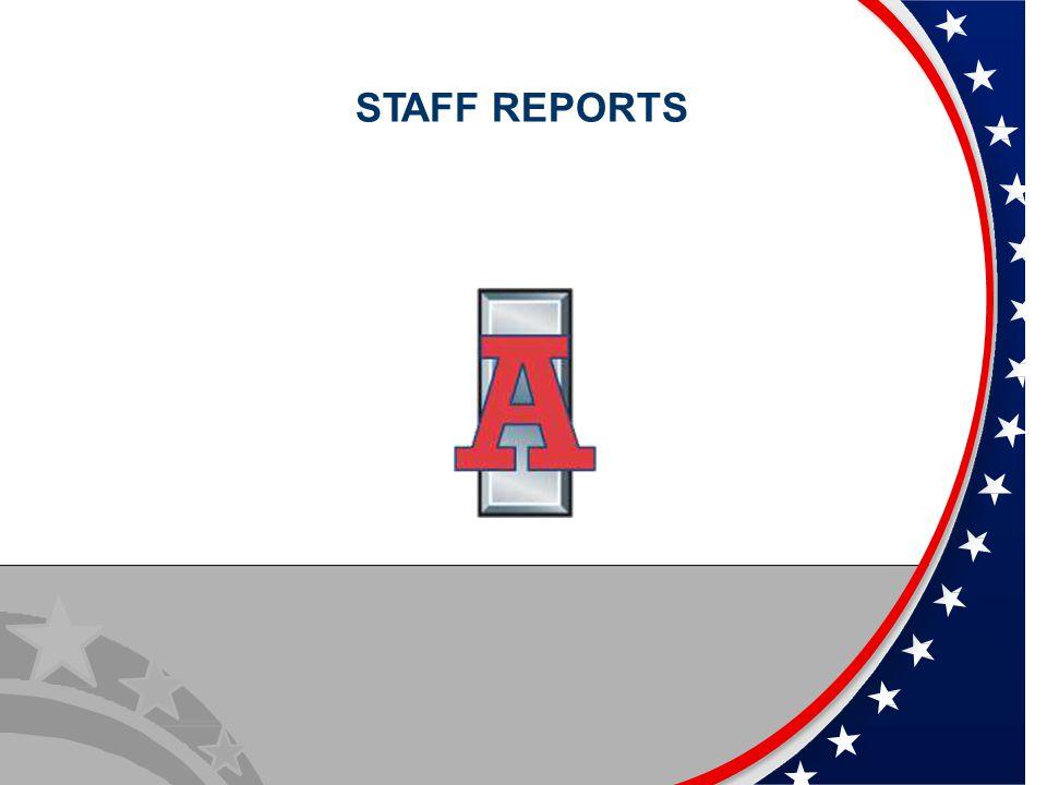 STAFF REPORTS