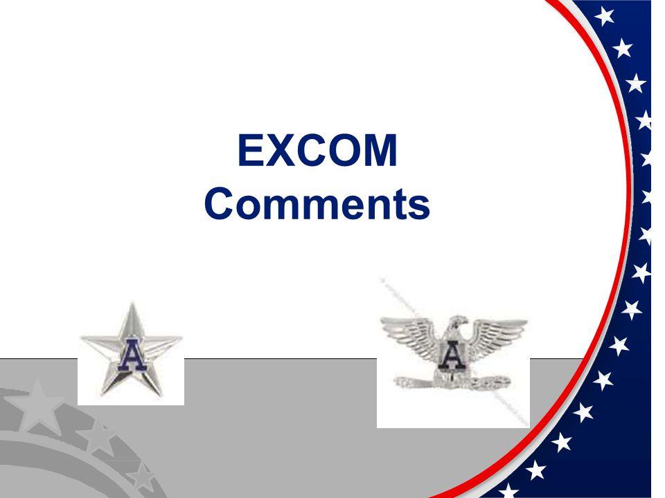 EXCOM Comments