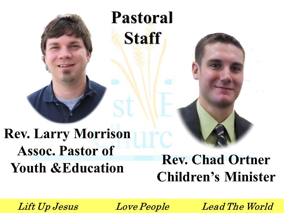 Lift Up JesusLove PeopleLead The World Wednesday Sept 26 7:00am