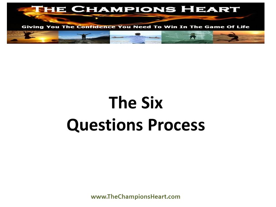 The 7 Steps (Continued) 5.