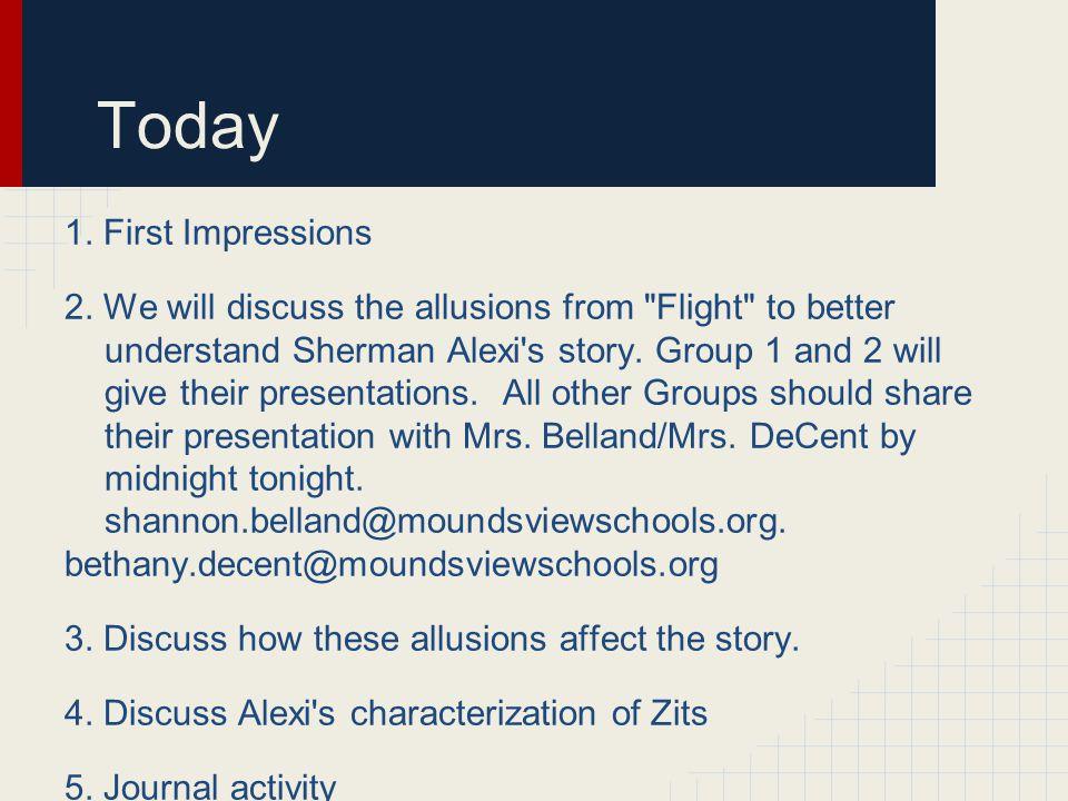 Flight Activities Chapters 4-6