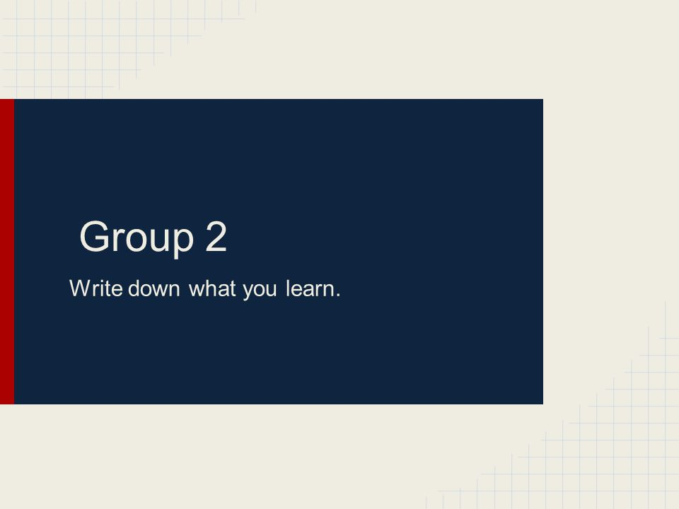 Group Presentation DeCent s Class Only Groups to Present: 10