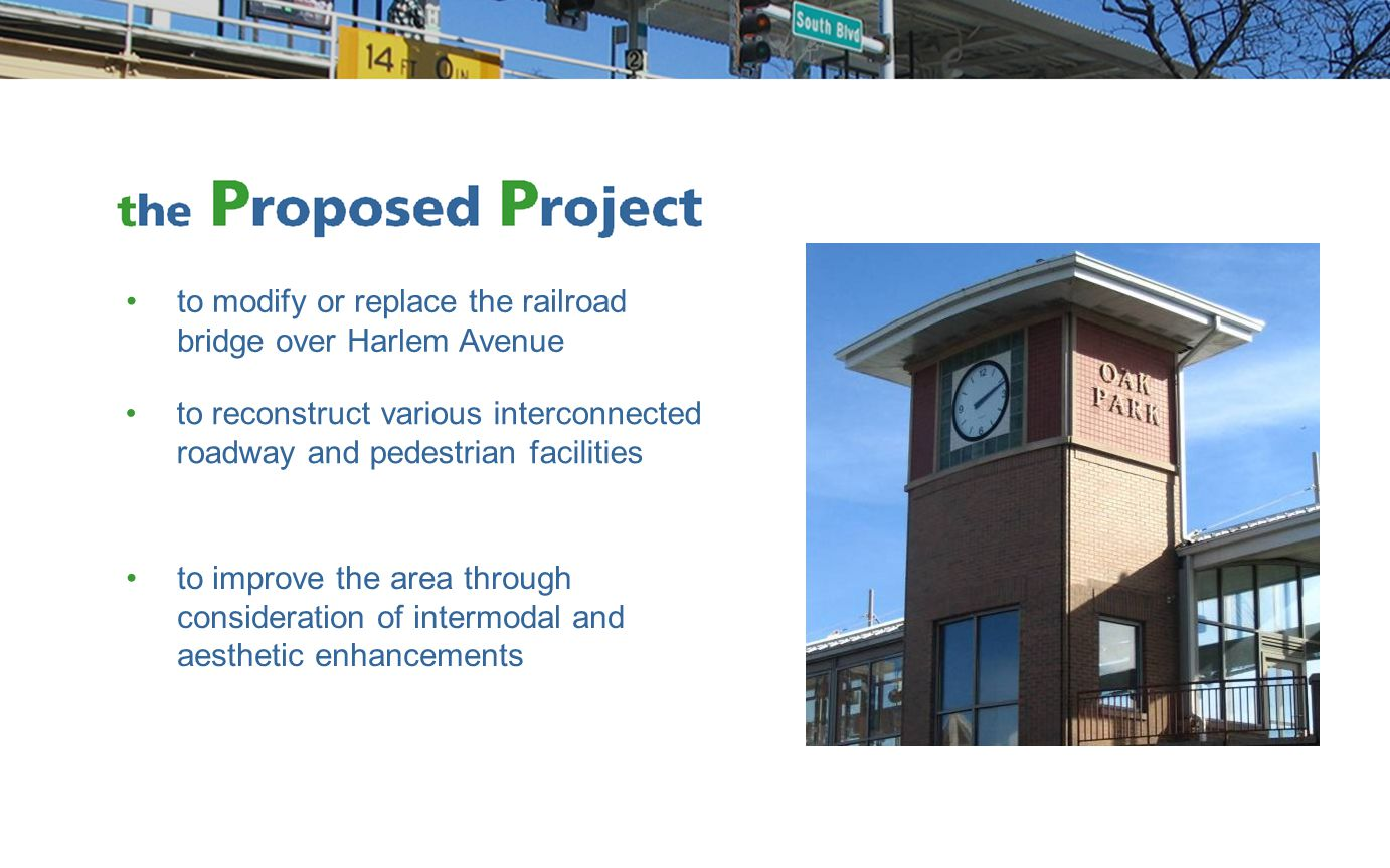 1999: Villages conduct a feasibility study for for viaduct replacement –study explored various replacement schemes for the structure and reconfiguration of Harlem Avenue
