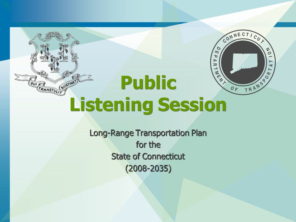 Public Outreach Events and Comment Period Pre-Draft LRP Listening Sessions in the Fall 2007 During the LRP sessions (seven sessions throughout the State) Submit input in written form by December 31, 2007 By electronic mail or via comment form on Department's web site By electronic mail or via comment form on Department's web site For your convenience, the Input, Ideas and Comments sheet is available on the Department's web site with other related LRP materials as a user-friendly form with a button for submitting comments by e-mail.