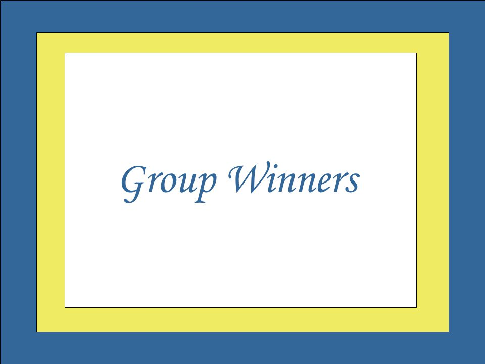 Welcome to the Governor's Outstanding Volunteer Awards Group Winners