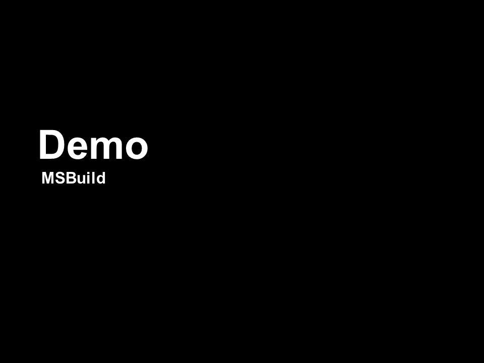 Demo MSBuild