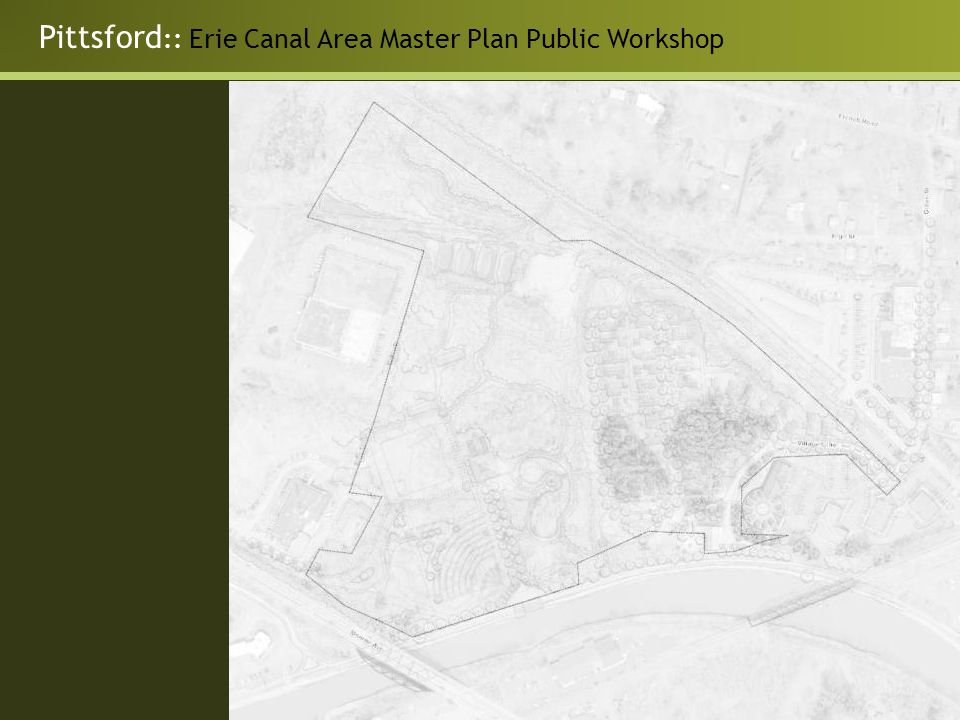 Pittsford :: Erie Canal Area Master Plan Public Workshop
