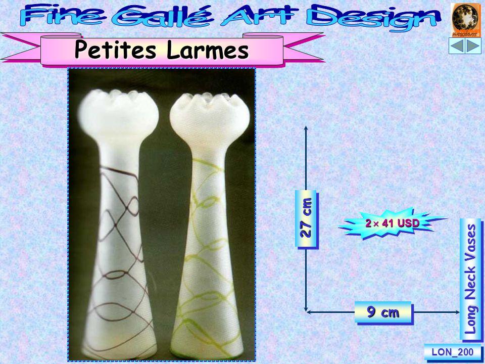 Petites Larmes (Tears) 27 cm 9 cm LON_200LON_200 Long Neck Vases 2  41 USD
