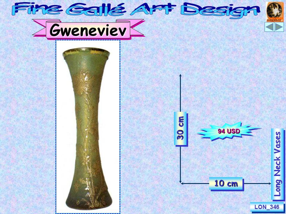 30 cm 10 cm Gweneviev e LON_346LON_346 Long Neck Vases 94 USD