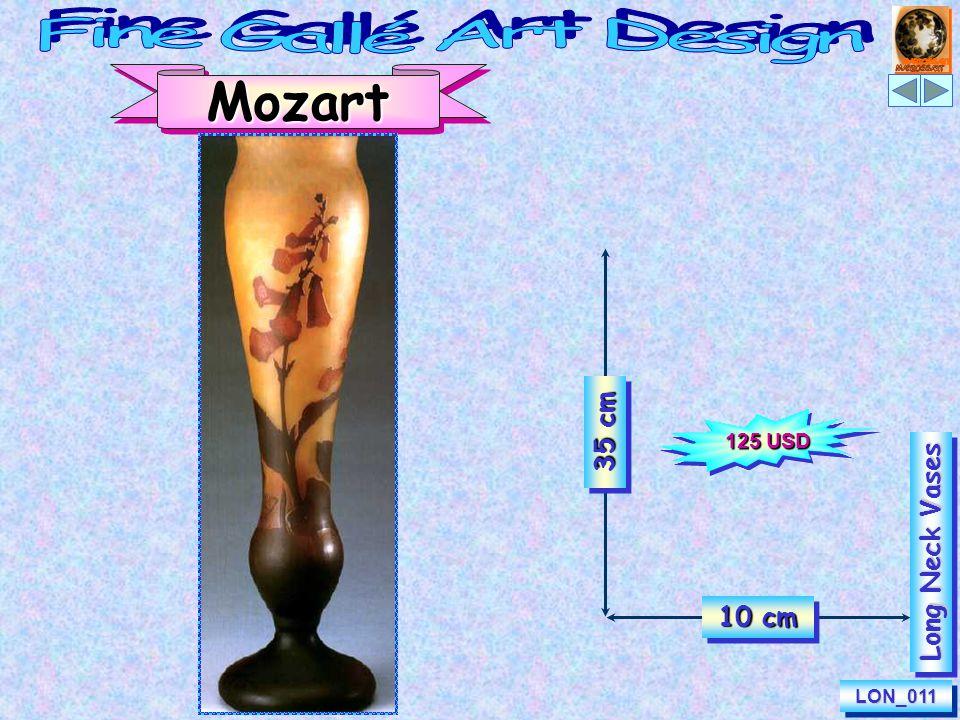 LON_046LON_046 Long Neck Vases Primula Veris 30 cm 10 cm 115 USD