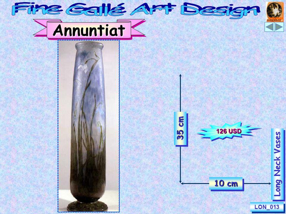25 cm 8 cm IcarusLON_048LON_048 Long Neck Vases 100 USD