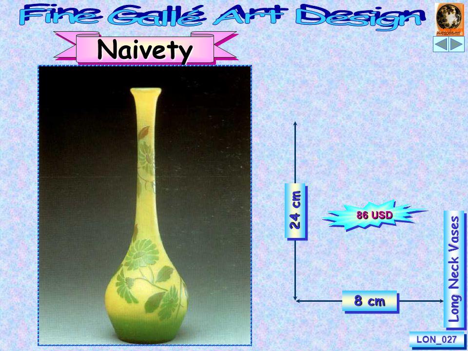 25 cm 8 cm EternityLON_602LON_602 Long Neck Vases 100 USD