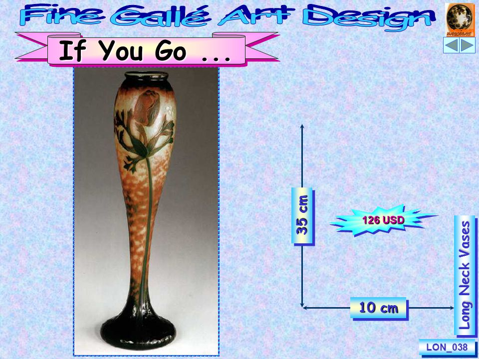 35 cm 14 cm CalliopeLON_628LON_628 Long Neck Vases 97 USD