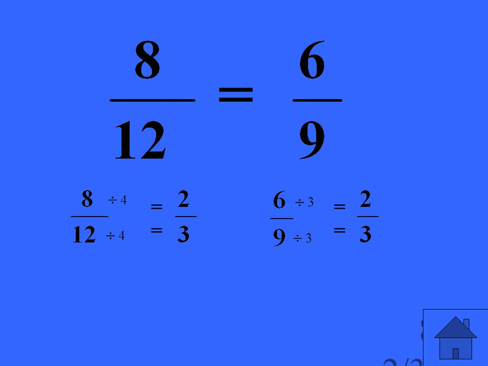 Compare these fractions.