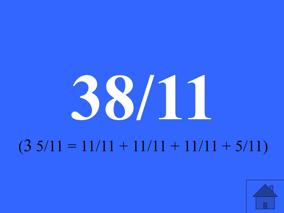 What is 3 5/11 as an improper fraction
