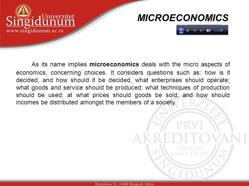 MICROECONOMICS str.