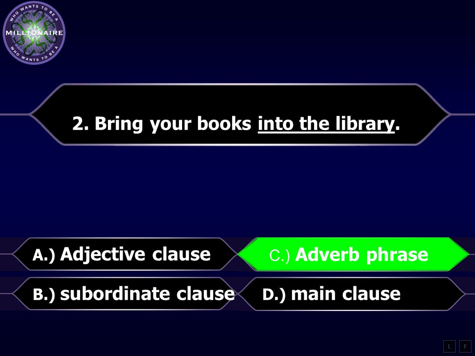 2.Bring your books into the library.