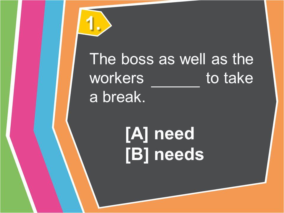對等連接詞連接主詞和主詞的練習 [1] 全班分成兩組,每組每次輪流一人站出來或 站在座位上搶答,答對該組加一分。 [2] 只要說出正確答案是A或B即可。