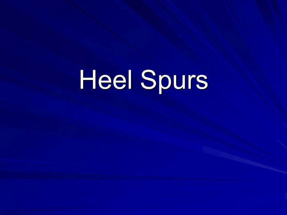 Heel Spurs