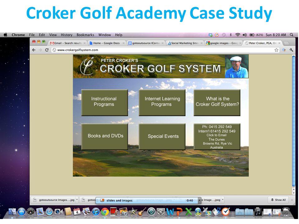 Croker Golf Academy Case Study