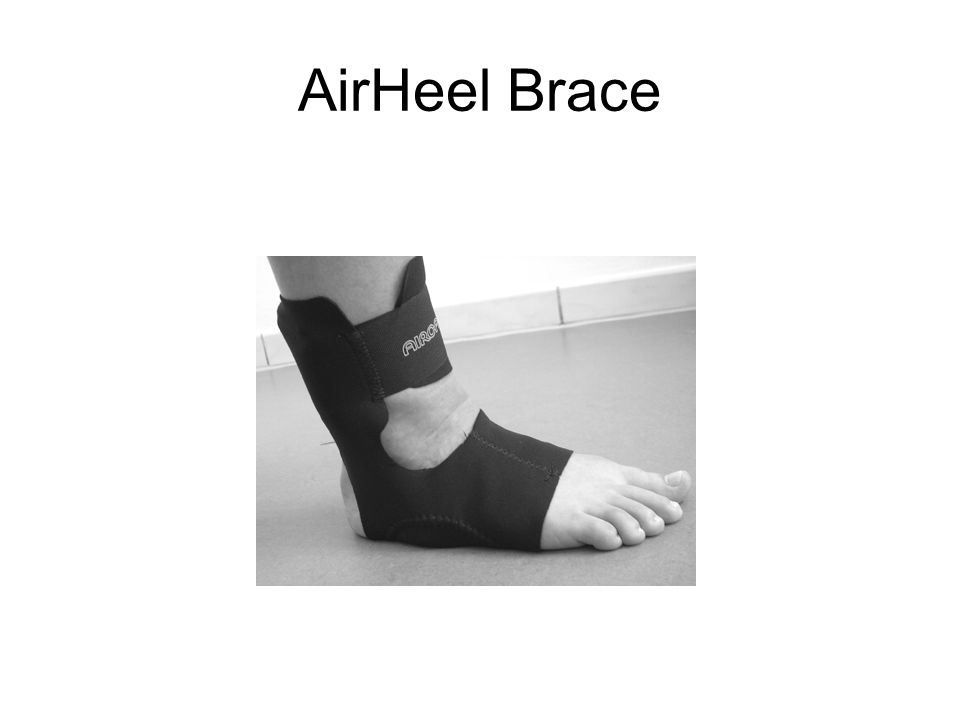 AirHeel Brace