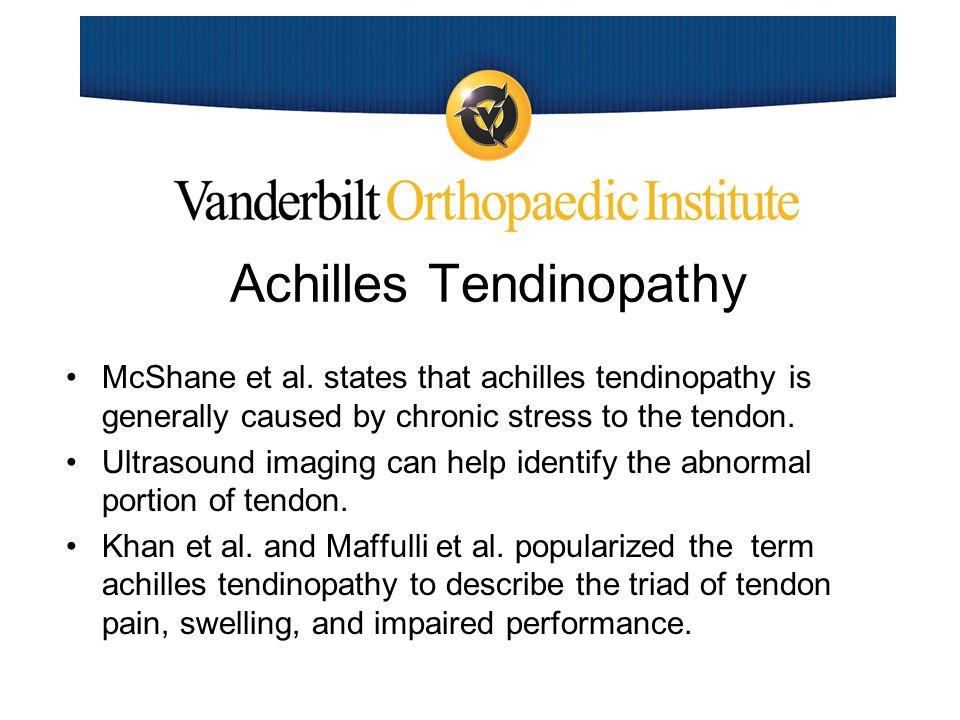 Achilles Tendinopathy McShane et al.