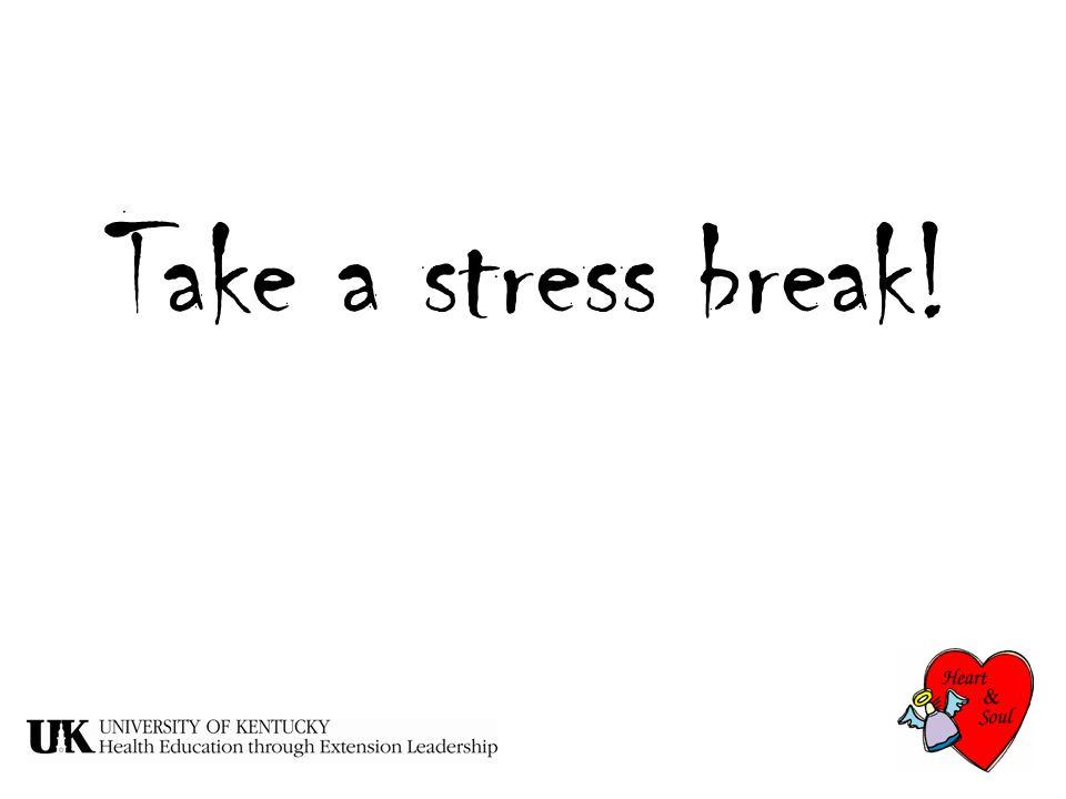 Take a stress break!