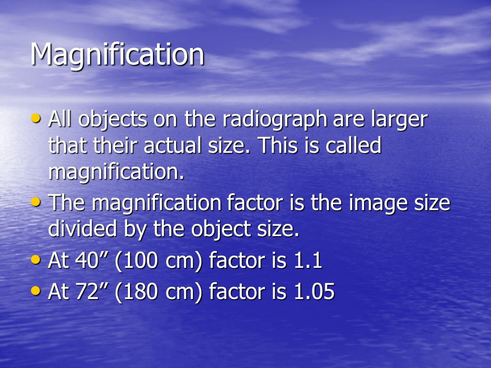 Focal Spot Blur Heel Effect There is more to the heel affect than just the attenuation of the beam by the anode.
