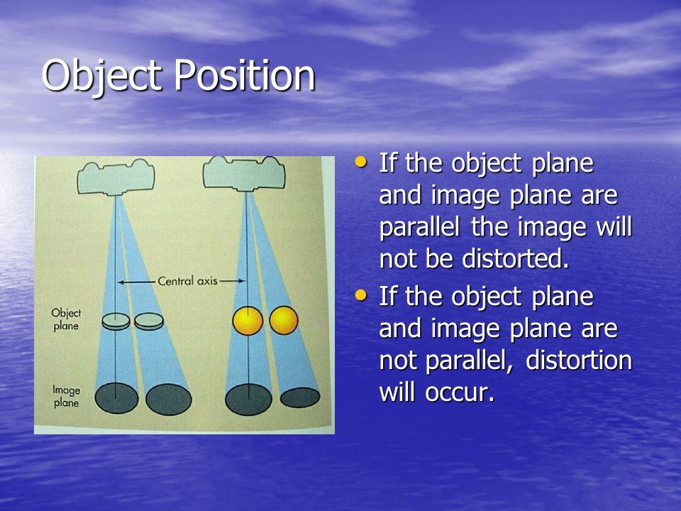 Optimum kVp Optimum kVp will provide the best contrast with the least amount of radiation.