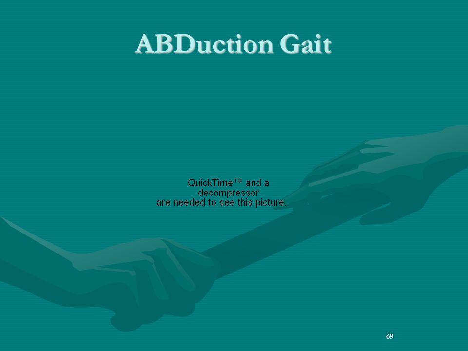 69 ABDuction Gait 69
