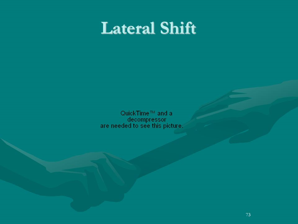 73 Lateral Shift