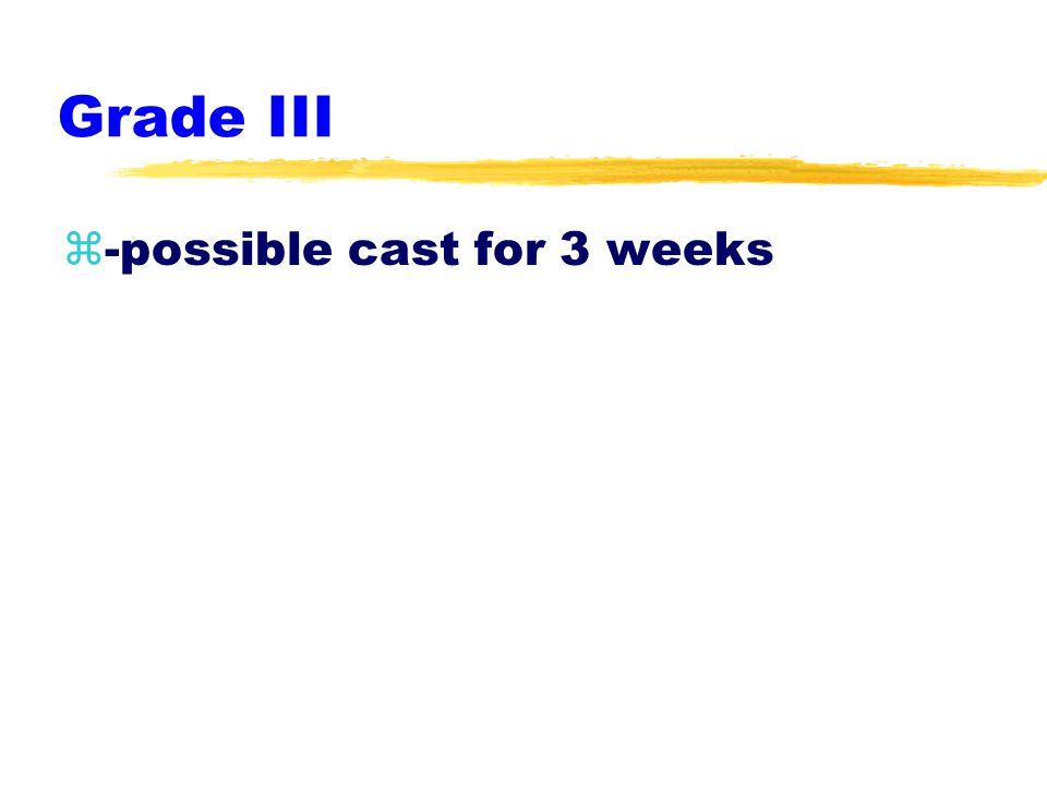 Grade II z-RICE z-x-ray z-crutches prn
