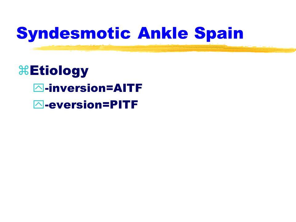 Eversion Ankle Sprains zetiology y-eversion, abduction, dorsiflexion ypes planus