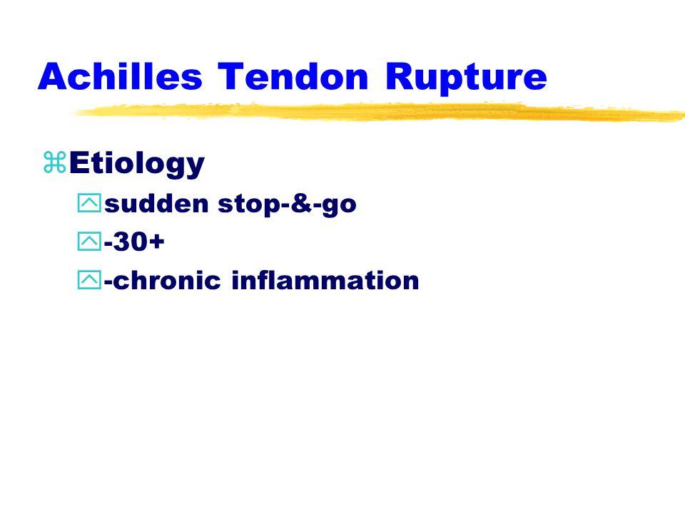 Achilles Tendon Strain zManagement y-ICE y-compressive wrap y-heel lift