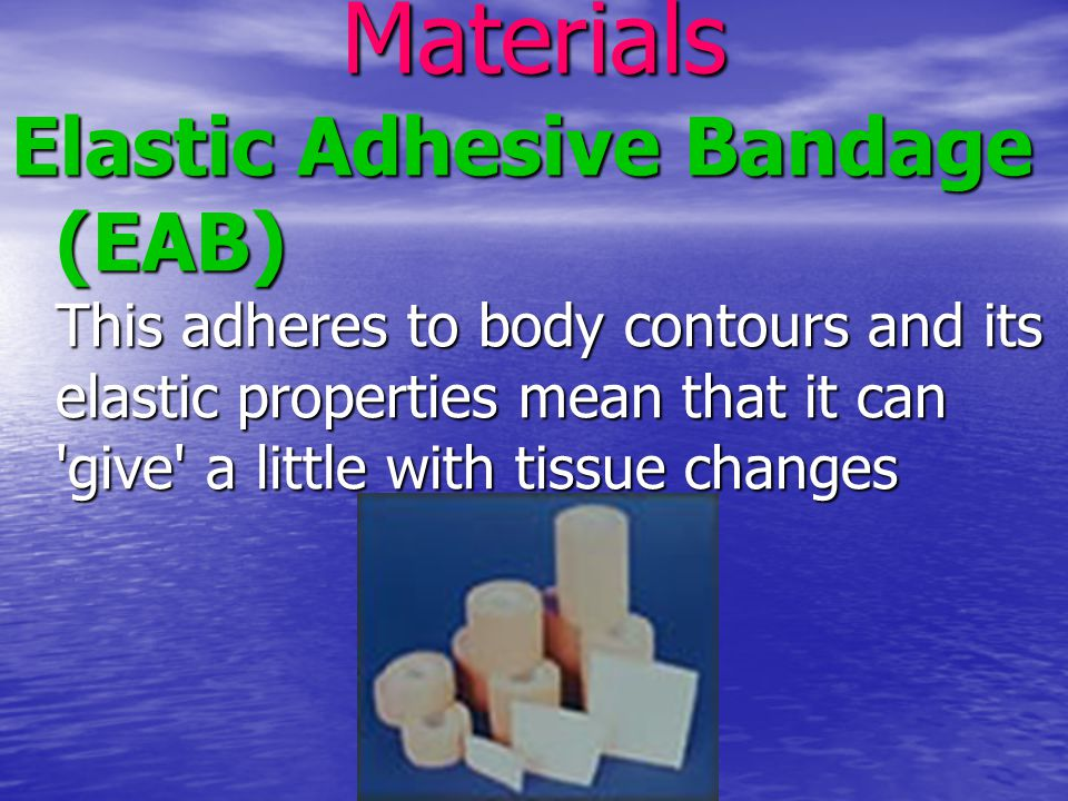 Zinc Oxide Tape This material doesn t give and is therefore ideal to provide restraint and reinforcement