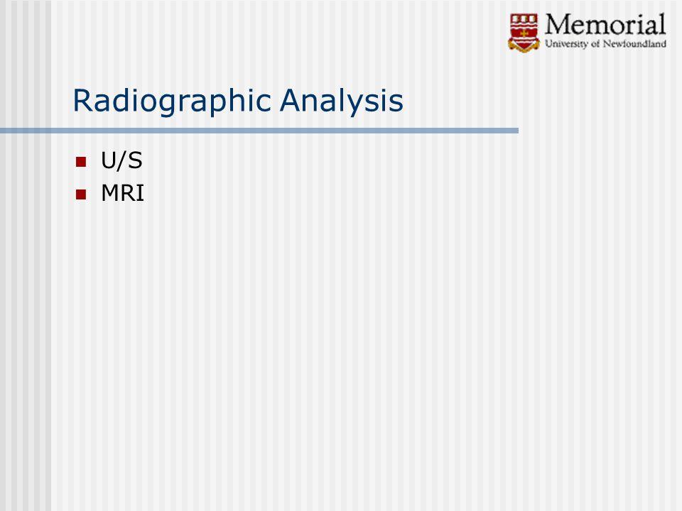 U/S MRI