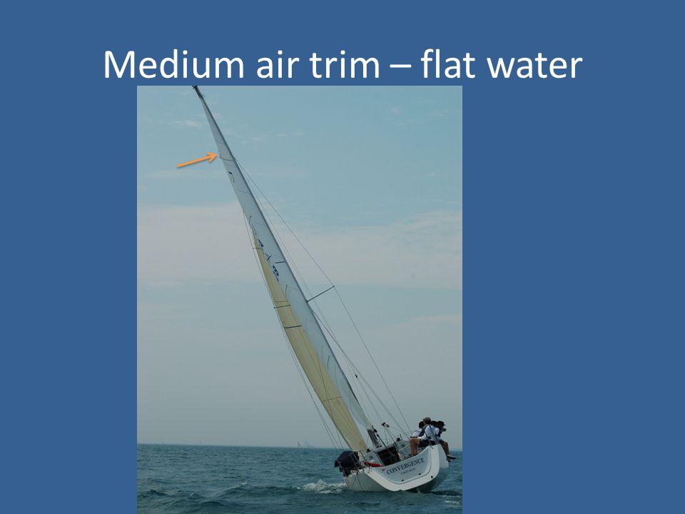 Medium air trim – flat water