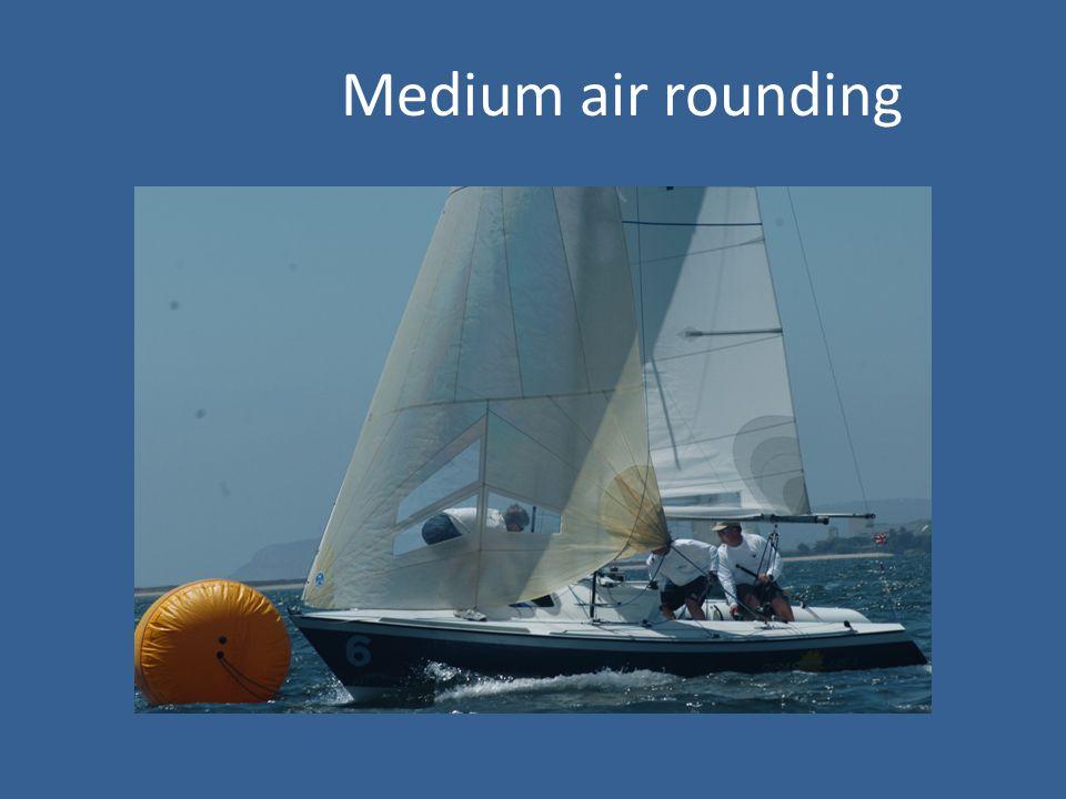Medium air rounding