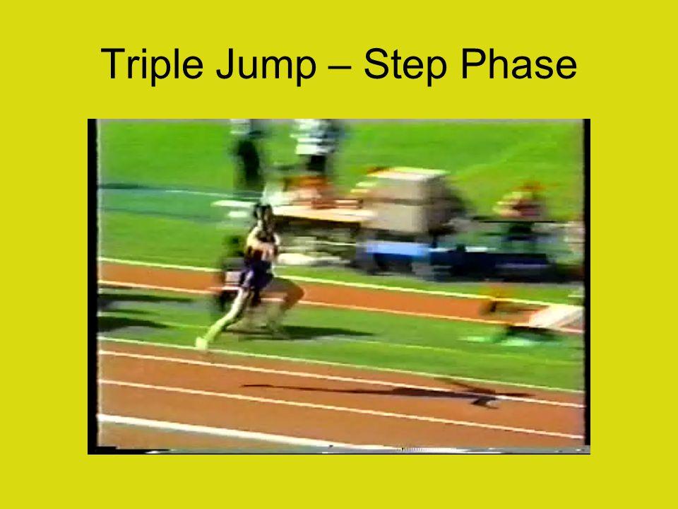 Triple Jump – Step Phase